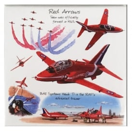 Little Snoring Red Arrows Fridge Magnet