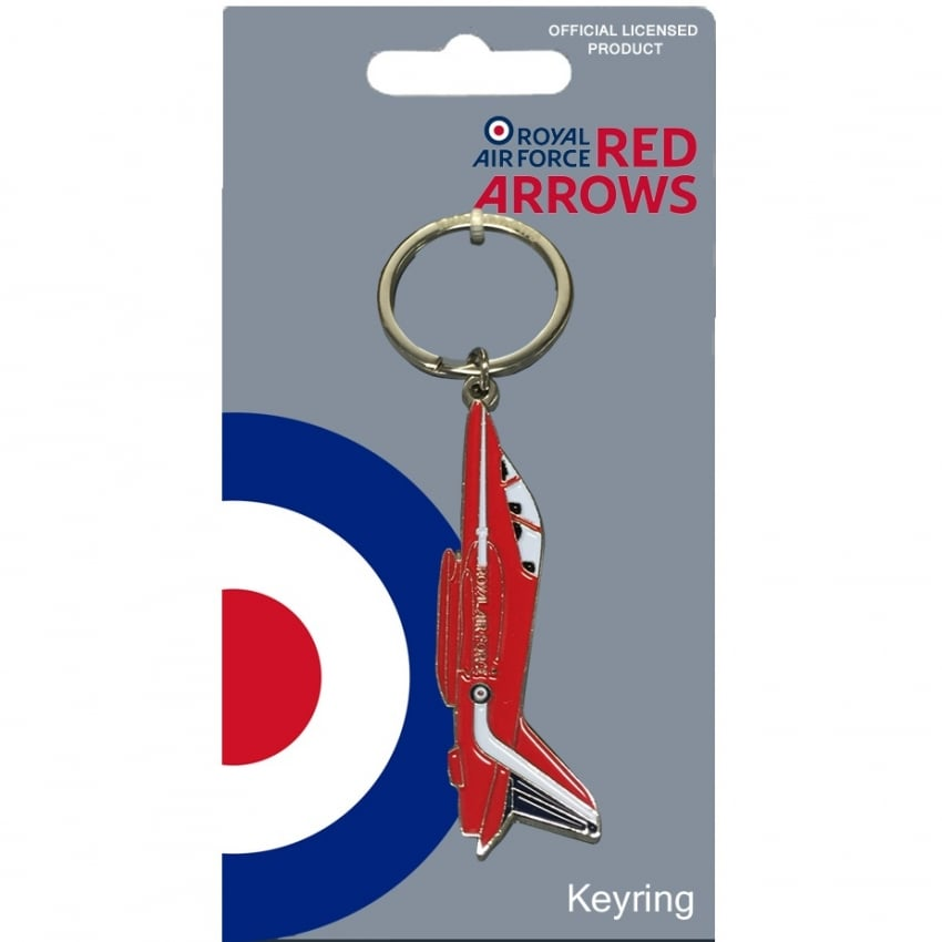 Red Arrows Hawk Keyring