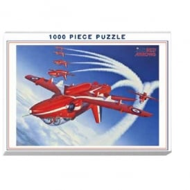 Red Arrows 'Inverted' Jigsaw Puzzle (1000 pieces)