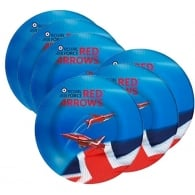 Red Arrows Party Paper Plates - Set of 6