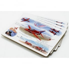 Little Snoring Red Arrows Placemat Set of 4