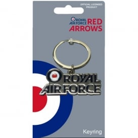 Red Arrows RAF Logo Keyring