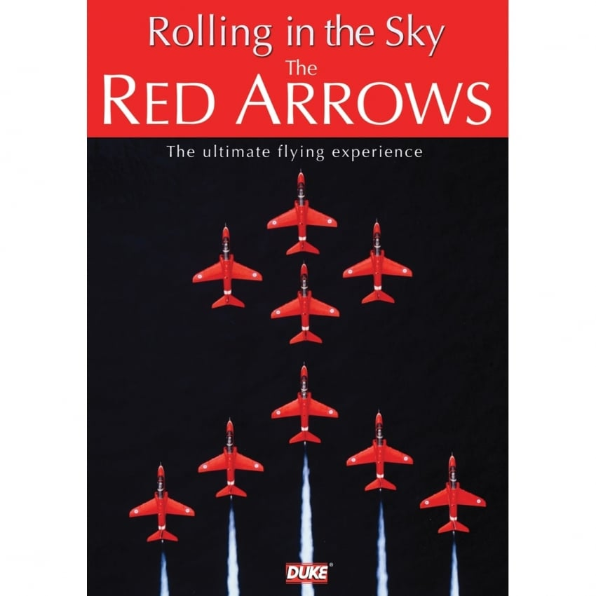 Red Arrows Rolling In The Sky DVD
