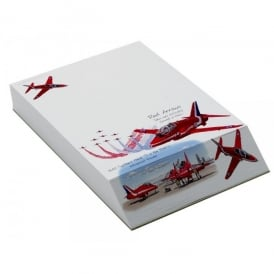 Little Snoring Red Arrows Slant Pad