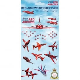 Humatt Red Arrows Sticker Pack