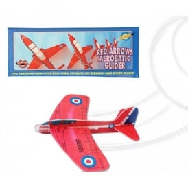 Red Arrows Stunt Aerobatic Glider
