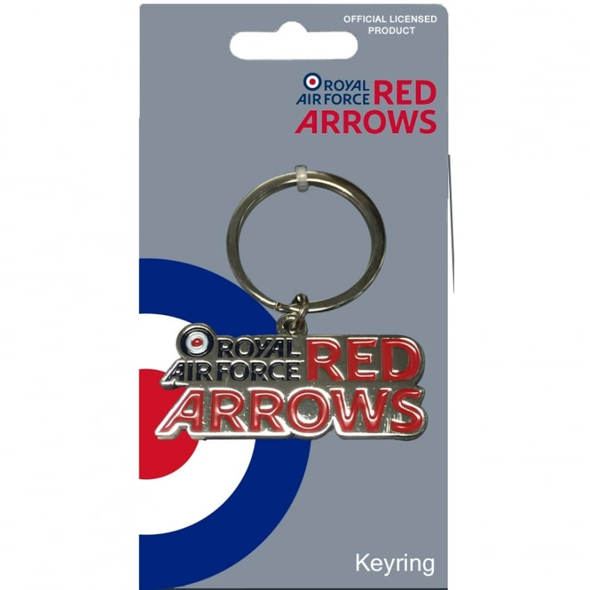 Red Arrows Team Logo Keyring