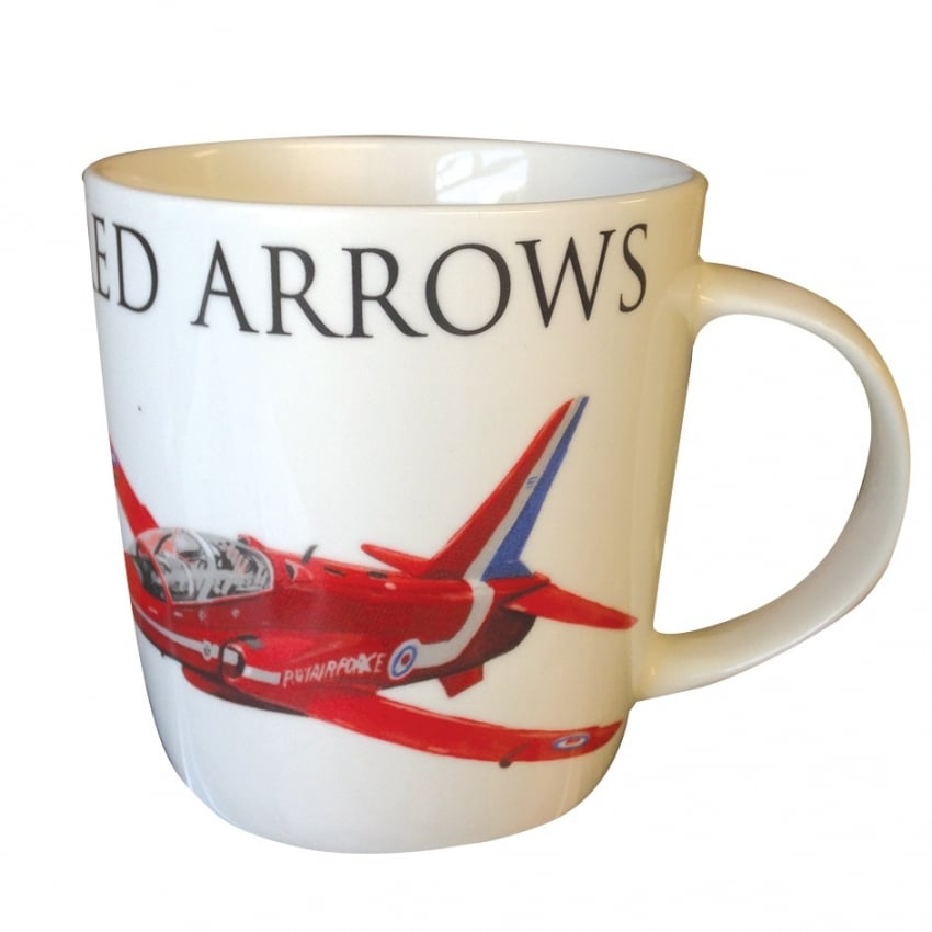 Red Arrows Word Mug