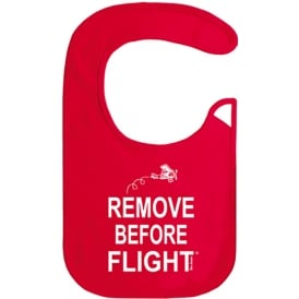 Remove Before Flight Bib