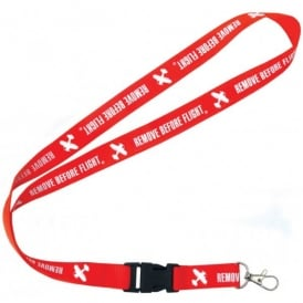 Gifts For Aviators Remove Before Flight Lanyard