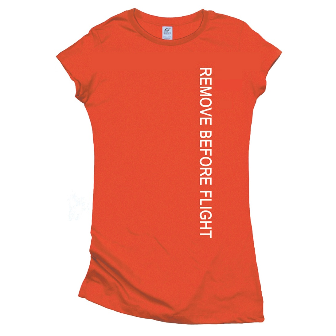 Gifts For Aviators Remove Before Flight Long Bodied Ladies T-Shirt 8fc0be137