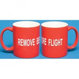 Gifts For Aviators Remove Before Flight Mug