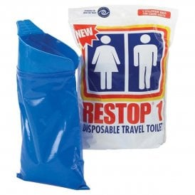 Restop Disposable Travel Toilet (2 Pack)