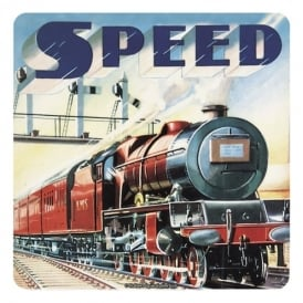 Retro 'Speed' Coaster - Single