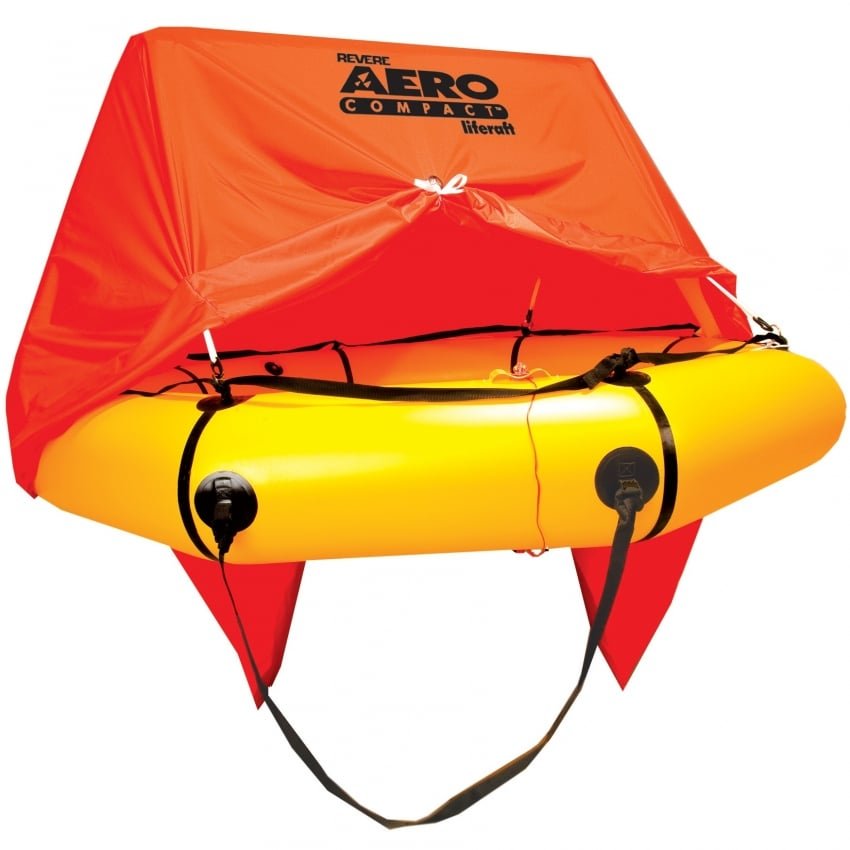Revere AERO Compact 4-man Raft with canopy & Deluxe Kit
