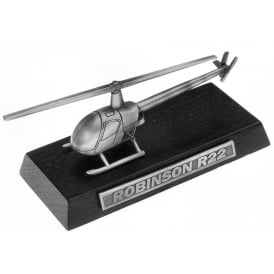 Clivedon Robinson R22 Desk Model - Pewter