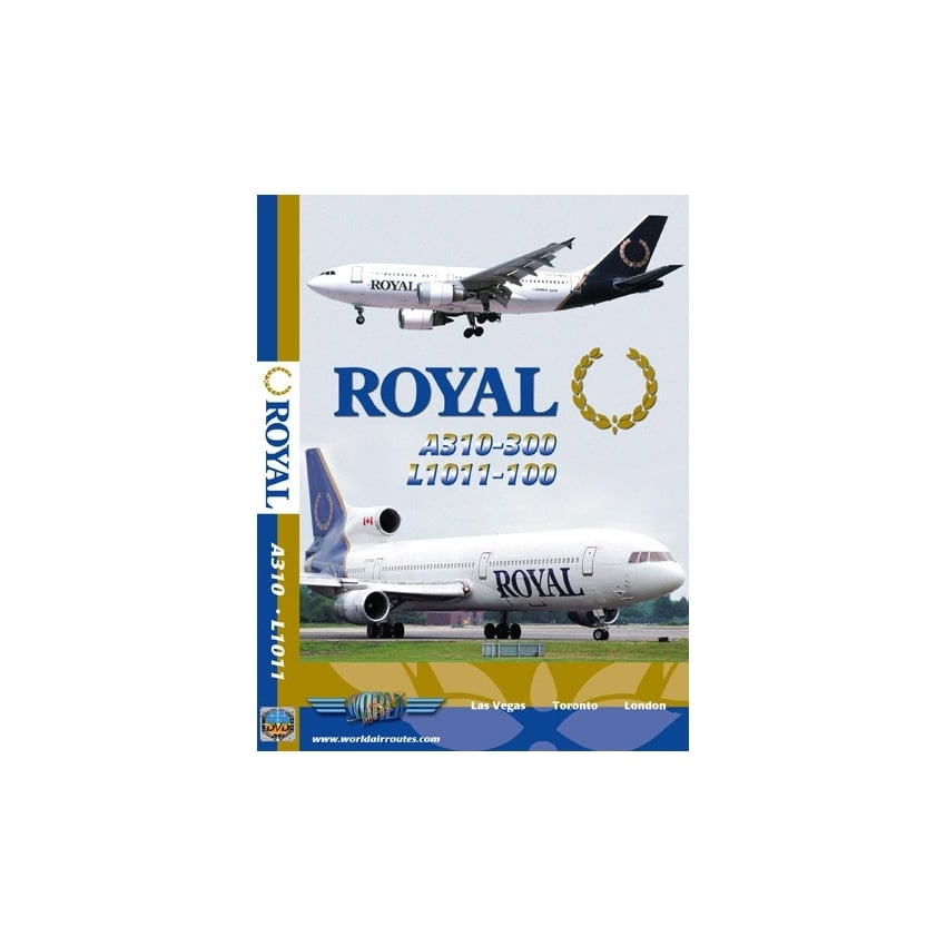 Royal A310 and L1011 DVD