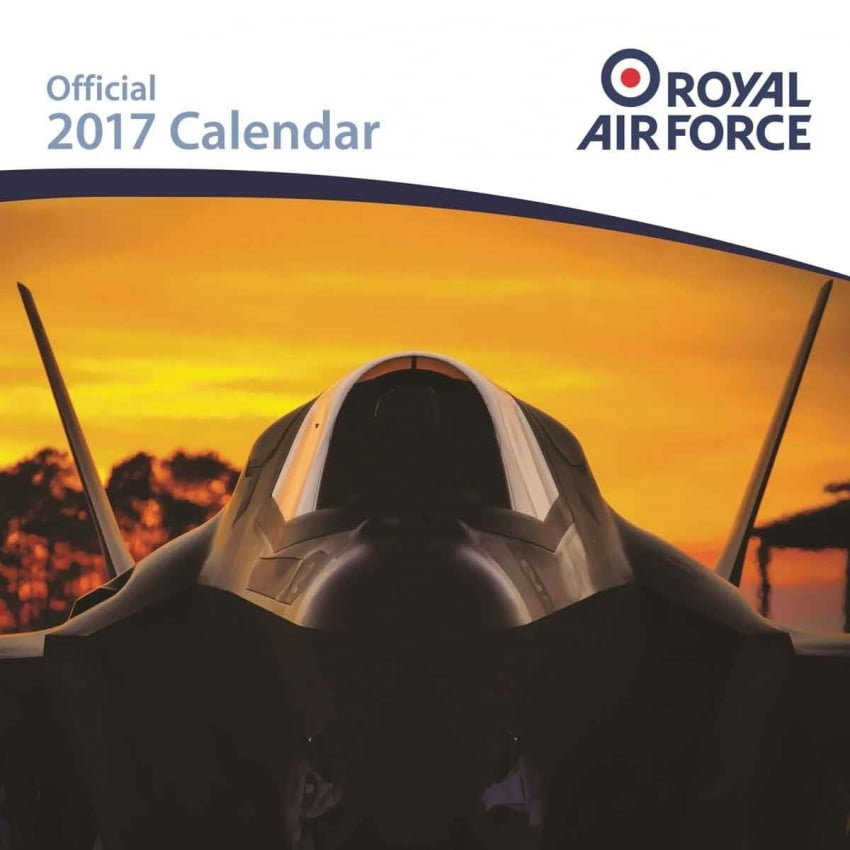 Royal Air Force Calendar 2017