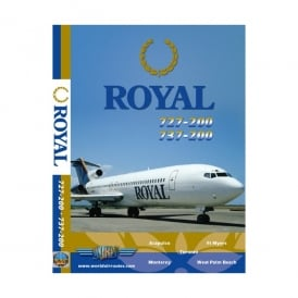 Royal Boeing 727-200 DVD