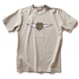 Royal Canadian Air Force Wings T-Shirt - Grey