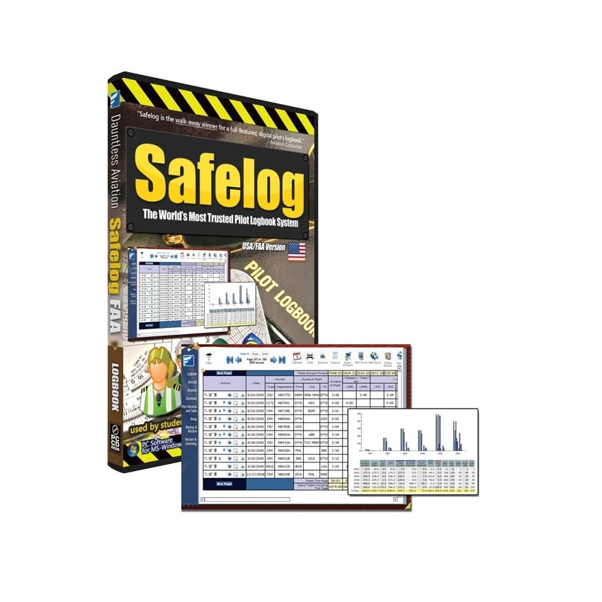 Safelog Professional Log book Software