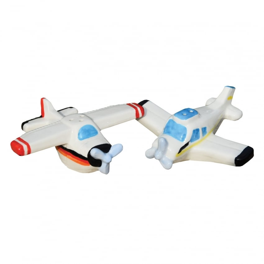 Salt and Pepper Ceramic Pots - GA Aeroplane