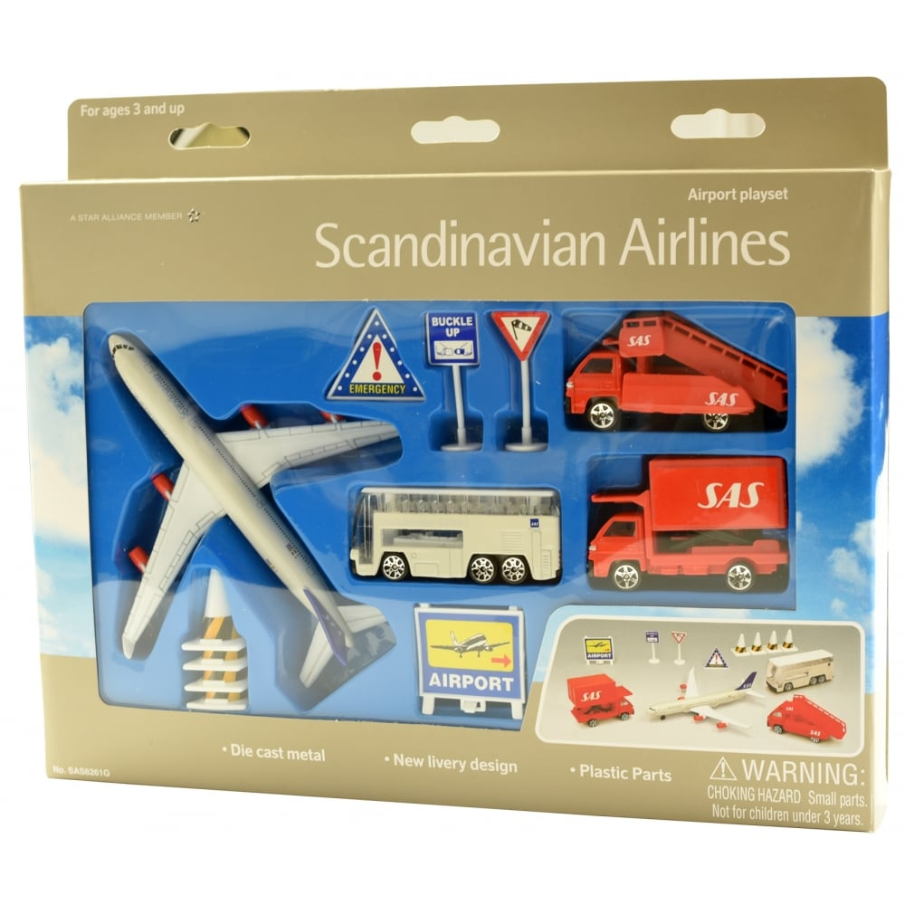 Airport toys congratulate