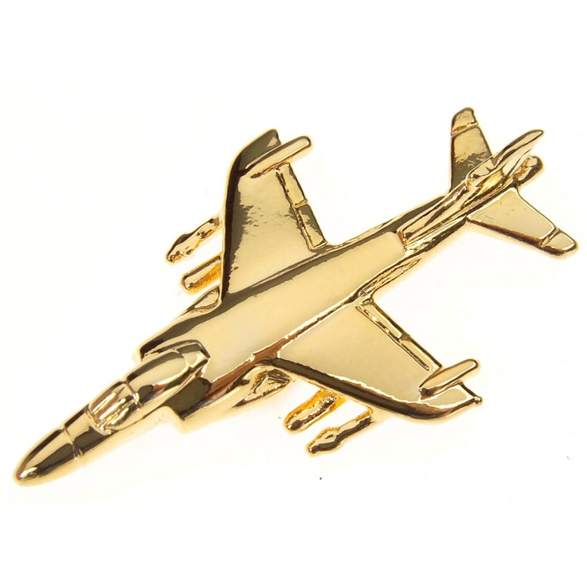 Sea Harrier FRS 2 Boxed Pin - Gold
