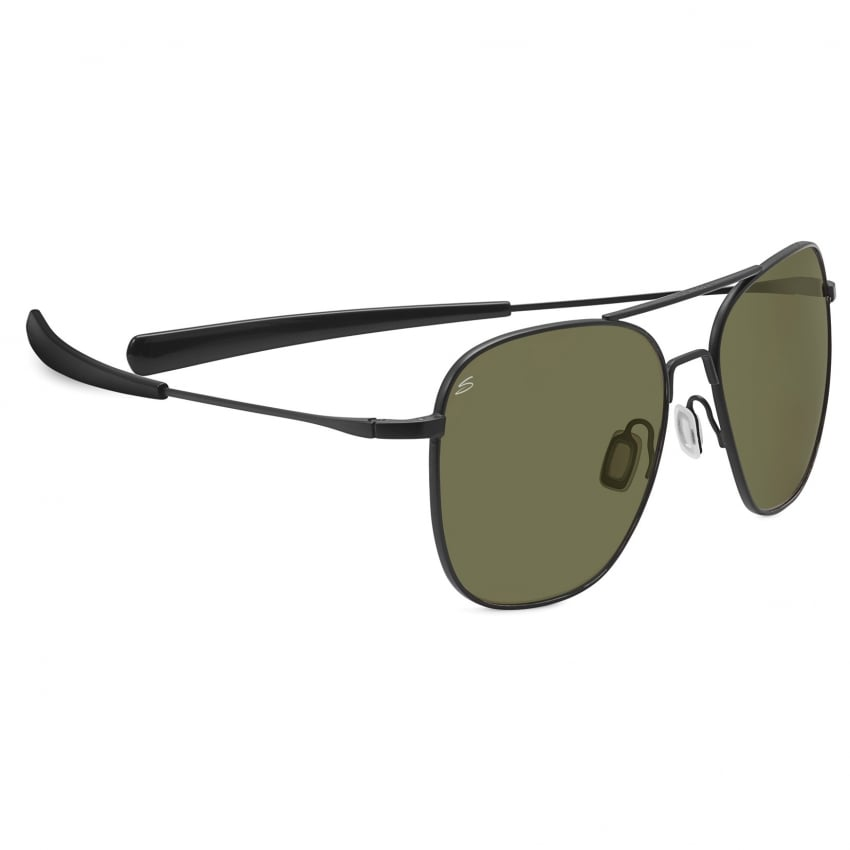 Aerial Sunglasses - Black - 555nm Lens