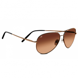 Serengeti Medium Aviator 6826 Espresso NON Polarised Sunglasses