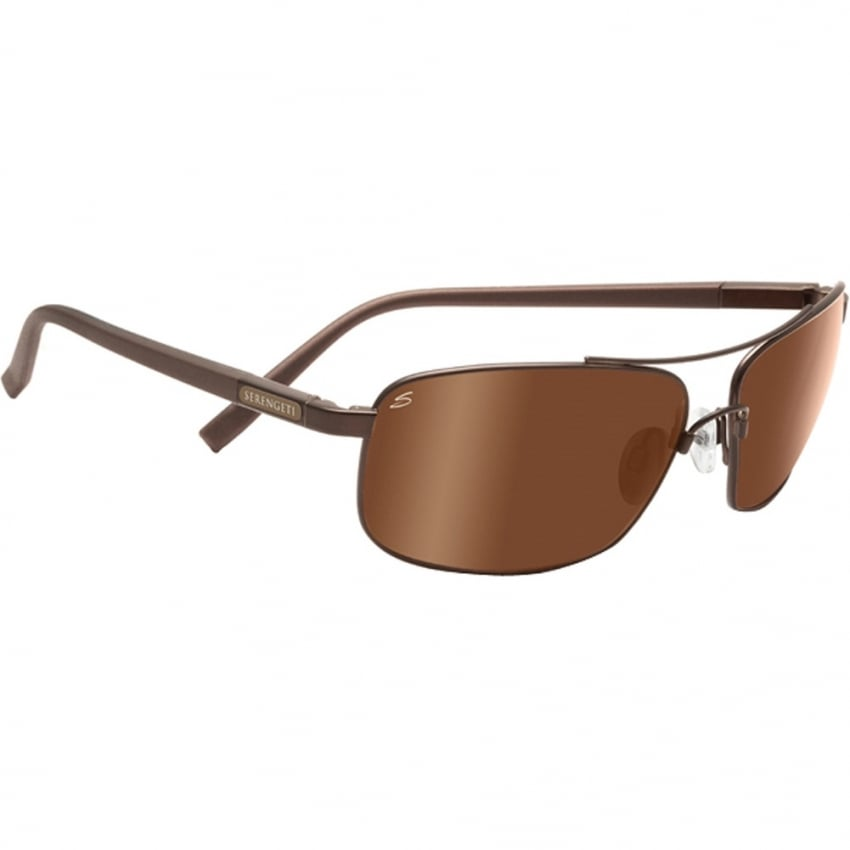 Serengeti Palladio Sunglasses - Brown - Polarised