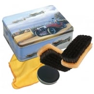 Shoe Polish Kit in Coming Home Aircraft Tin