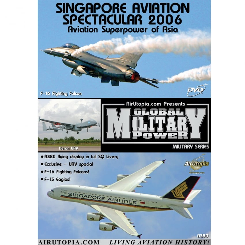 Singapore Aviation Spectacular 2006 DVD
