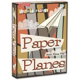 Lagoon Sixty Second Paper Planes Kit - Set of 60