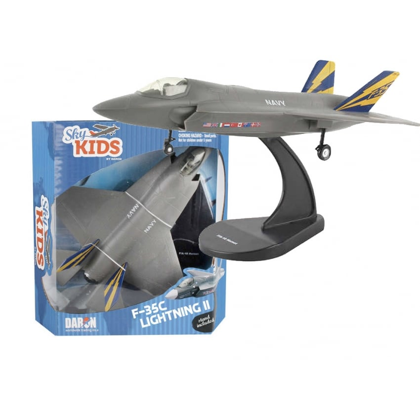 Sky Kids F-35C Lightning II With Lights & Sound