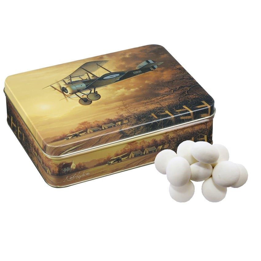 Sopwith Camel Medium Tin Treats Mint Imperials