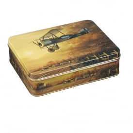 Sopwith Camel Small Storage Tin - Empty