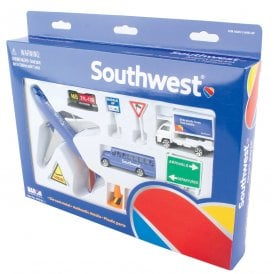 Gifts For Aviators Southwest Airlines 12 Piece Model Play Set