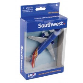 Southwest Airlines Diecast Toy