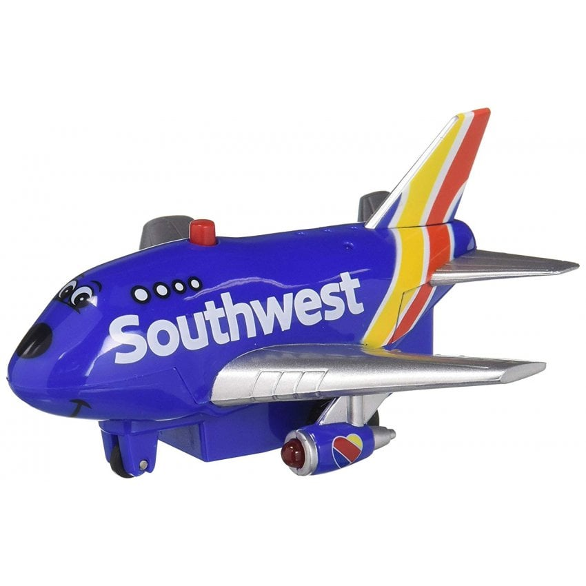 Southwest Airlines Pull Back Toy