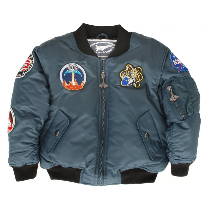 Space Shuttle Kids Flying Jacket