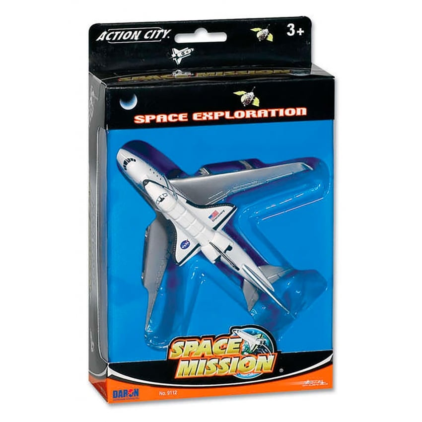 Space Shuttle on B747 Diecast Model