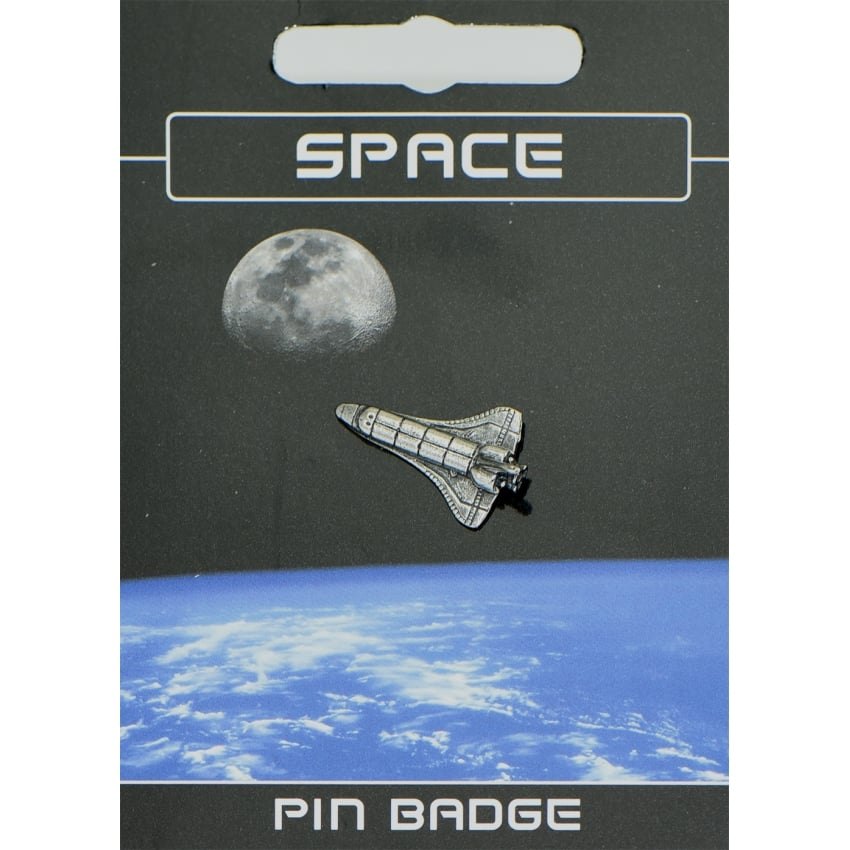 Space Shuttle Pin Badge