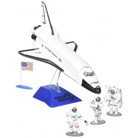 Space Shuttle Set with Astronauts Diecast Model