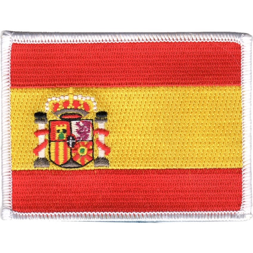 Spain Flag Iron on Patch