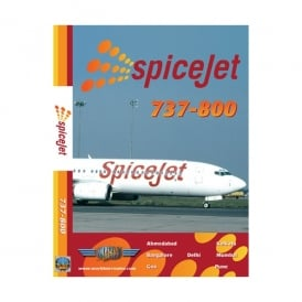 Just Planes SpiceJet Boeing 737-800 DVD