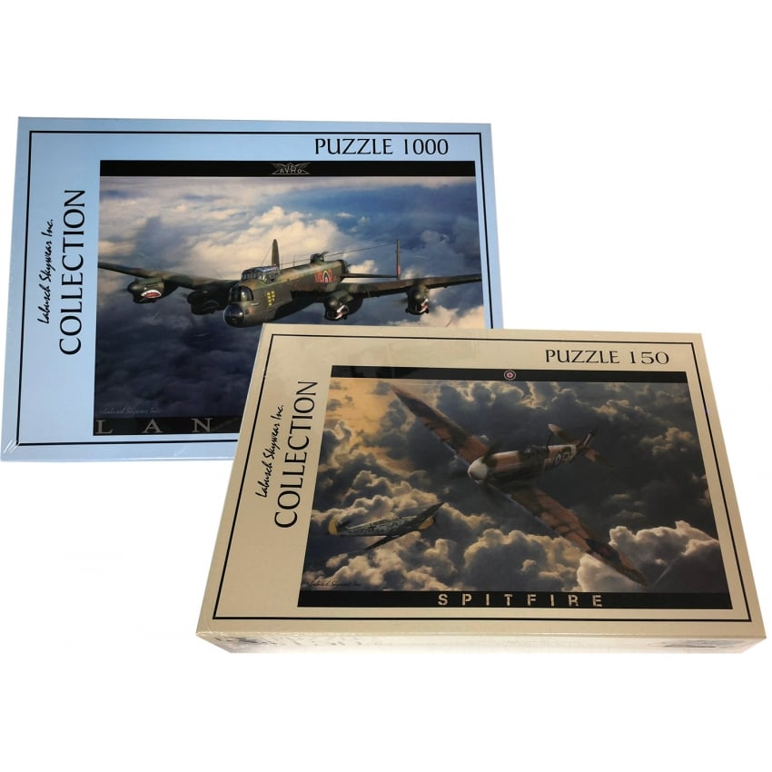 Spitfire and Lancaster Twin Pack Jigsaw Set