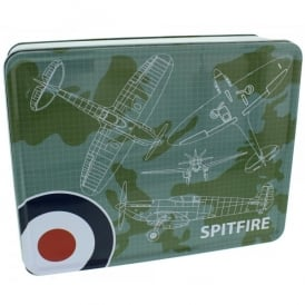 RAF Spitfire Blueprint Storage Tin