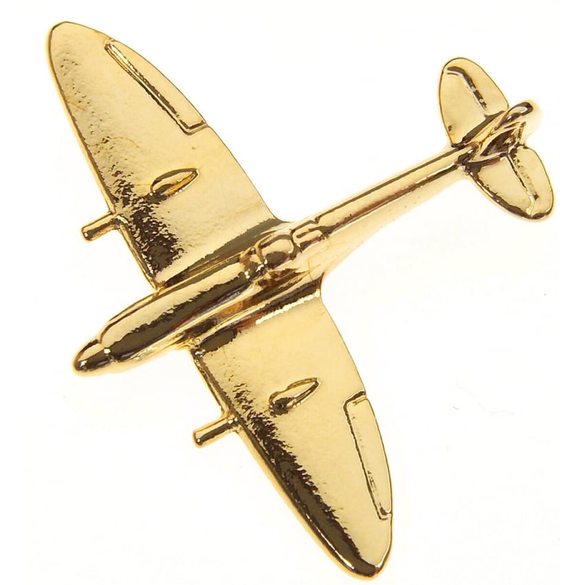 Spitfire Boxed Pin - Gold