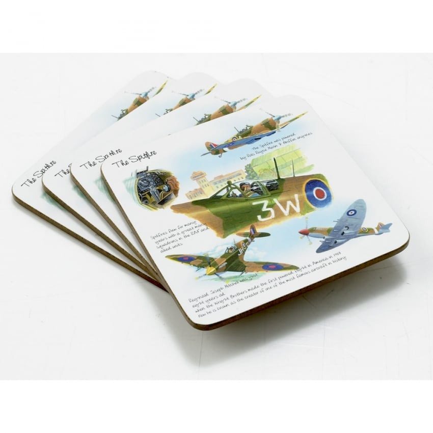 Spitfire Coaster Set of 4